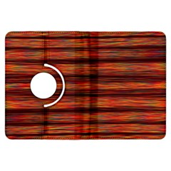 Colorful Abstract Background Strands Kindle Fire Hdx Flip 360 Case