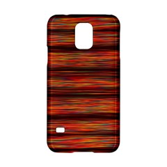 Colorful Abstract Background Strands Samsung Galaxy S5 Hardshell Case