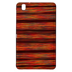 Colorful Abstract Background Strands Samsung Galaxy Tab Pro 8 4 Hardshell Case