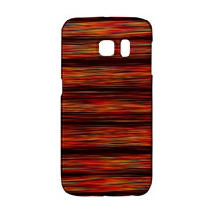 Colorful Abstract Background Strands Galaxy S6 Edge
