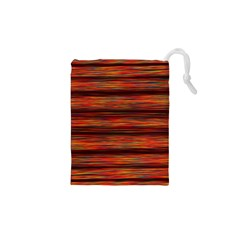 Colorful Abstract Background Strands Drawstring Pouches (xs)