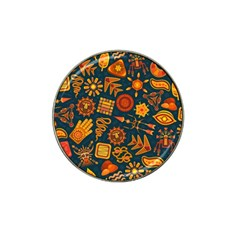 Pattern Background Ethnic Tribal Hat Clip Ball Marker (10 Pack)