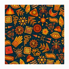 Pattern Background Ethnic Tribal Medium Glasses Cloth (2 Side)
