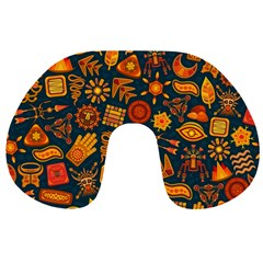 Pattern Background Ethnic Tribal Travel Neck Pillows