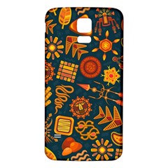 Pattern Background Ethnic Tribal Samsung Galaxy S5 Back Case (white)