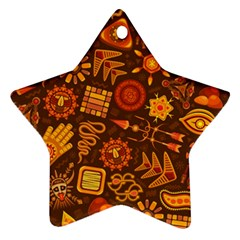 Pattern Background Ethnic Tribal Ornament (star)