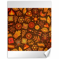 Pattern Background Ethnic Tribal Canvas 12  X 16