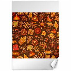 Pattern Background Ethnic Tribal Canvas 12  X 18