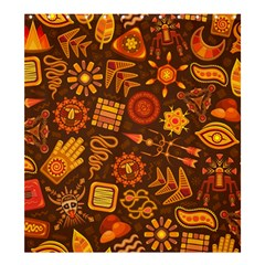 Pattern Background Ethnic Tribal Shower Curtain 66  X 72  (large)