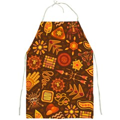 Pattern Background Ethnic Tribal Full Print Aprons