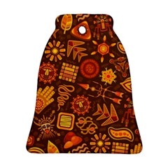 Pattern Background Ethnic Tribal Ornament (bell)