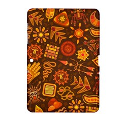 Pattern Background Ethnic Tribal Samsung Galaxy Tab 2 (10 1 ) P5100 Hardshell Case