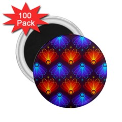 Background Colorful Abstract 2 25  Magnets (100 Pack)