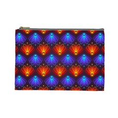 Background Colorful Abstract Cosmetic Bag (large)