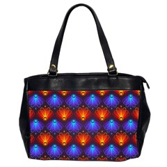 Background Colorful Abstract Office Handbags (2 Sides)
