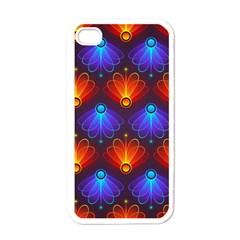 Background Colorful Abstract Apple Iphone 4 Case (white)
