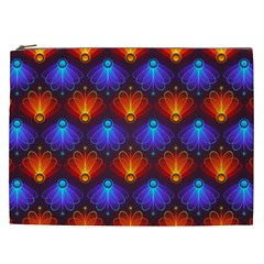 Background Colorful Abstract Cosmetic Bag (xxl)