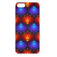 Background Colorful Abstract Apple Iphone 5 Seamless Case (white)