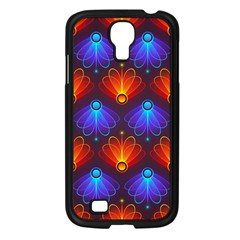 Background Colorful Abstract Samsung Galaxy S4 I9500/ I9505 Case (black)