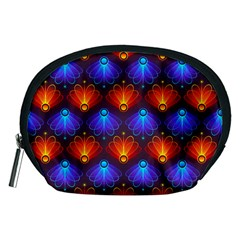 Background Colorful Abstract Accessory Pouches (medium)