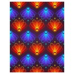 Background Colorful Abstract Drawstring Bag (Large) Front