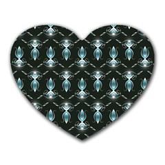 Seamless Pattern Background Heart Mousepads