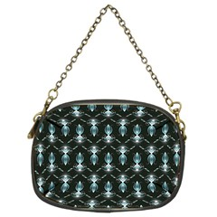 Seamless Pattern Background Chain Purses (two Sides)