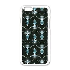 Seamless Pattern Background Apple Iphone 6/6s White Enamel Case