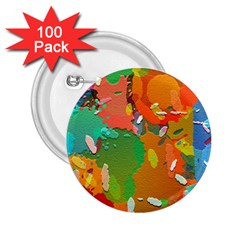 Background Colorful Abstract 2 25  Buttons (100 Pack)