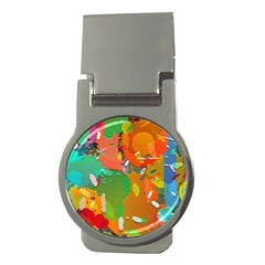Background Colorful Abstract Money Clips (round)