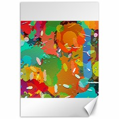 Background Colorful Abstract Canvas 12  X 18