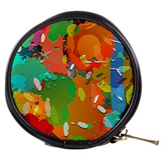 Background Colorful Abstract Mini Makeup Bags