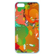 Background Colorful Abstract Apple Seamless Iphone 5 Case (color)