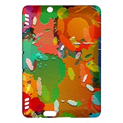 Background Colorful Abstract Kindle Fire Hdx Hardshell Case