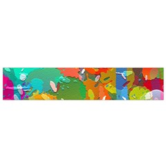 Background Colorful Abstract Small Flano Scarf