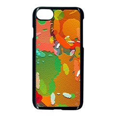 Background Colorful Abstract Apple Iphone 7 Seamless Case (black)