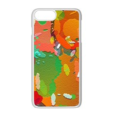 Background Colorful Abstract Apple Iphone 8 Plus Seamless Case (white)