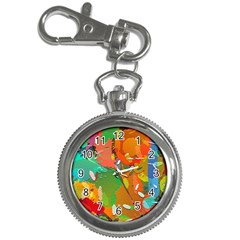 Background Colorful Abstract Key Chain Watches