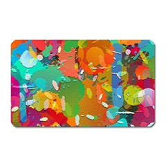 Background Colorful Abstract Magnet (rectangular)