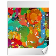 Background Colorful Abstract Canvas 36  X 48