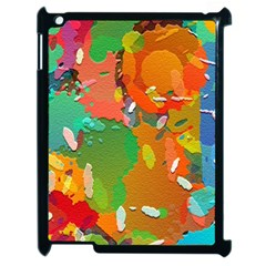 Background Colorful Abstract Apple Ipad 2 Case (black)