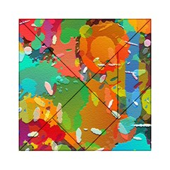 Background Colorful Abstract Acrylic Tangram Puzzle (6  X 6 )