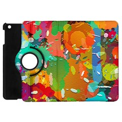 Background Colorful Abstract Apple Ipad Mini Flip 360 Case