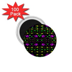Pure Roses In The Rose Garden Of Love 1 75  Magnets (100 Pack)