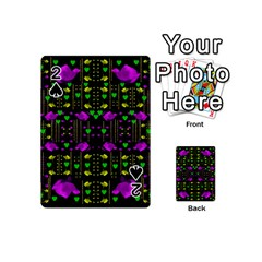 Pure Roses In The Rose Garden Of Love Playing Cards 54 (mini)
