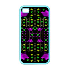 Pure Roses In The Rose Garden Of Love Apple Iphone 4 Case (color)