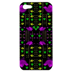 Pure Roses In The Rose Garden Of Love Apple Iphone 5 Hardshell Case