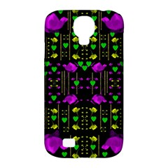 Pure Roses In The Rose Garden Of Love Samsung Galaxy S4 Classic Hardshell Case (pc+silicone)