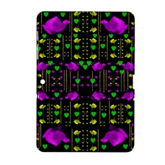Pure Roses In The Rose Garden Of Love Samsung Galaxy Tab 2 (10 1 ) P5100 Hardshell Case