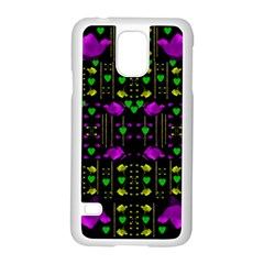 Pure Roses In The Rose Garden Of Love Samsung Galaxy S5 Case (white)